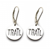 Trail Love Earrings | Stainless Steel