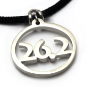 26.2 Pendant | Stainless Steel | 2mm Polycord