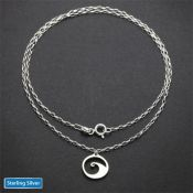 Accessory Rolo Chain | Sterling Silver | 18 inches | Chain ONLY