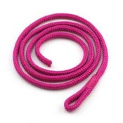 Accessory Cord | Raspberry Rose | 3mm Polycord | 20 inch