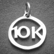 10K Charm | Sterling Silver